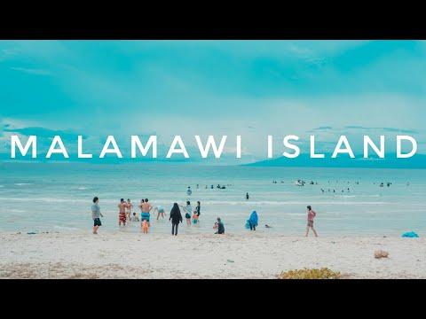Malamawi Island White Beach Isabela Basilan Philippines Travel Video