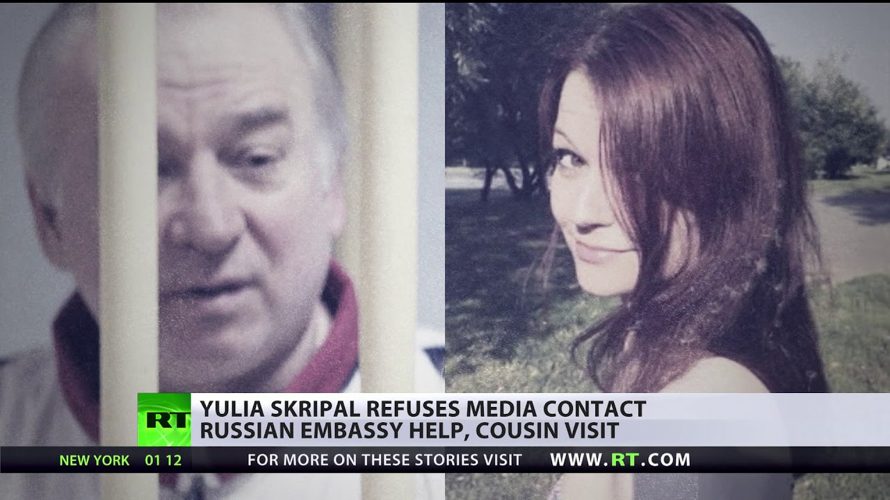 Yulia Skripal issues statement via UK police, Russian Embassy calls for  verification