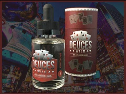 Deuces Wild   Broadway   E-juice Review