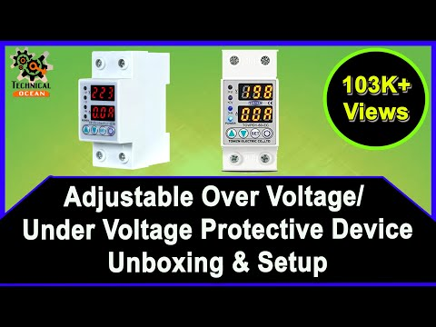 Over voltage and under voltage protective device protector ... on