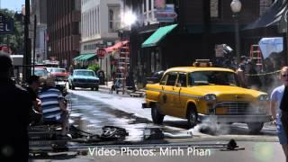 """CBGB"" Movie Filming in Savannah (with Alan Rickman)"