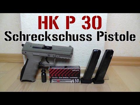 HK P30 Schreckschuss Pistole | Test [1080p Full HD]