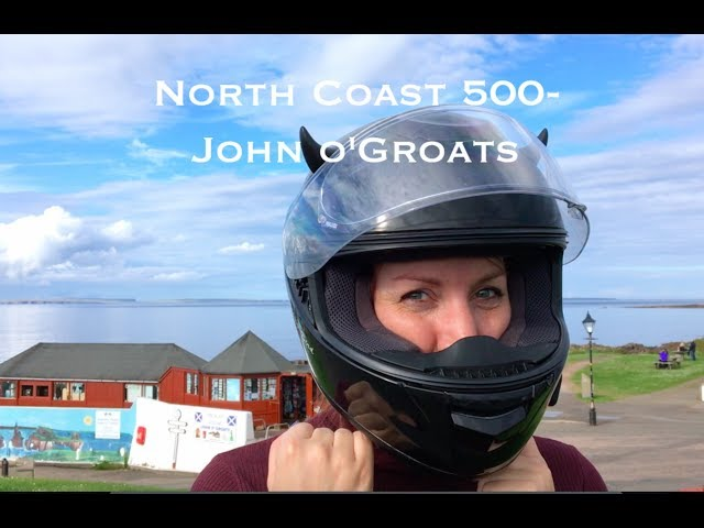 North Coast 500 Motorbike Tour - Triumph Scrambler - DJI MAVIC Pro Drone - Wandering Bird Adventures
