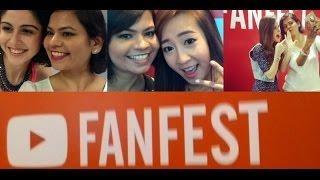 YouTube FanFest 2015 Singapore with TheLeiaV feat. Sherry Shroff & BubzBeauty