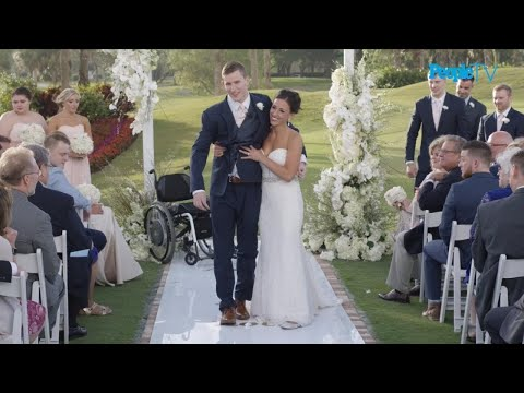 Groom Miraculously Walks Down Aisle After Being Paralyzed