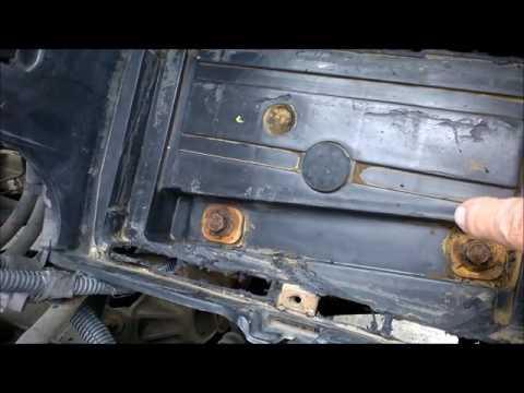 2003 Dakota Battery Well And Heat Sensor Design Problem