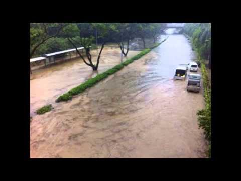 Flash Floods Hits Western Singapore