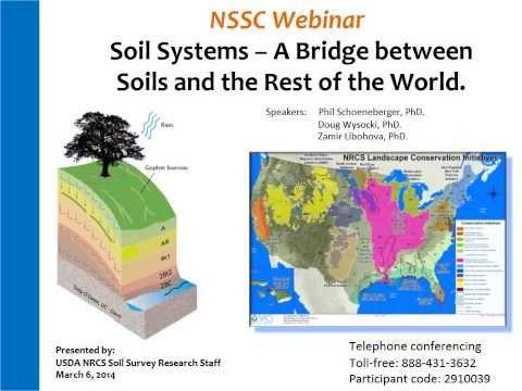 Webinar - Soil Systems (3/2014)