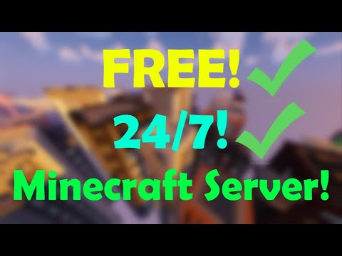 How To Make A FREE 24/7 ONLINE MINECRAFT Server!!