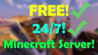 How to make a FREE 24/7 MINECRAFT Server!! [2020]