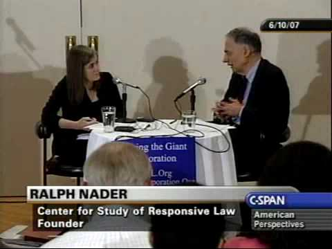 Ralph Nader - What all Americans should unite on
