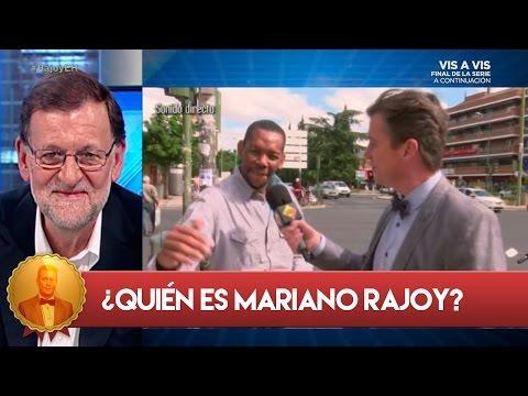 La opinión de los ciudadanos sobre Mariano Rajoy- El Hormiguero 3.0
