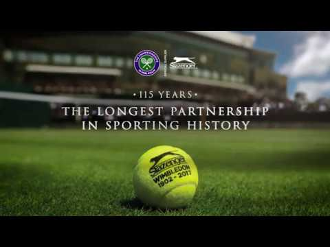 Slazenger Wimbledon Ball - The Longest Partnership in Sporting History
