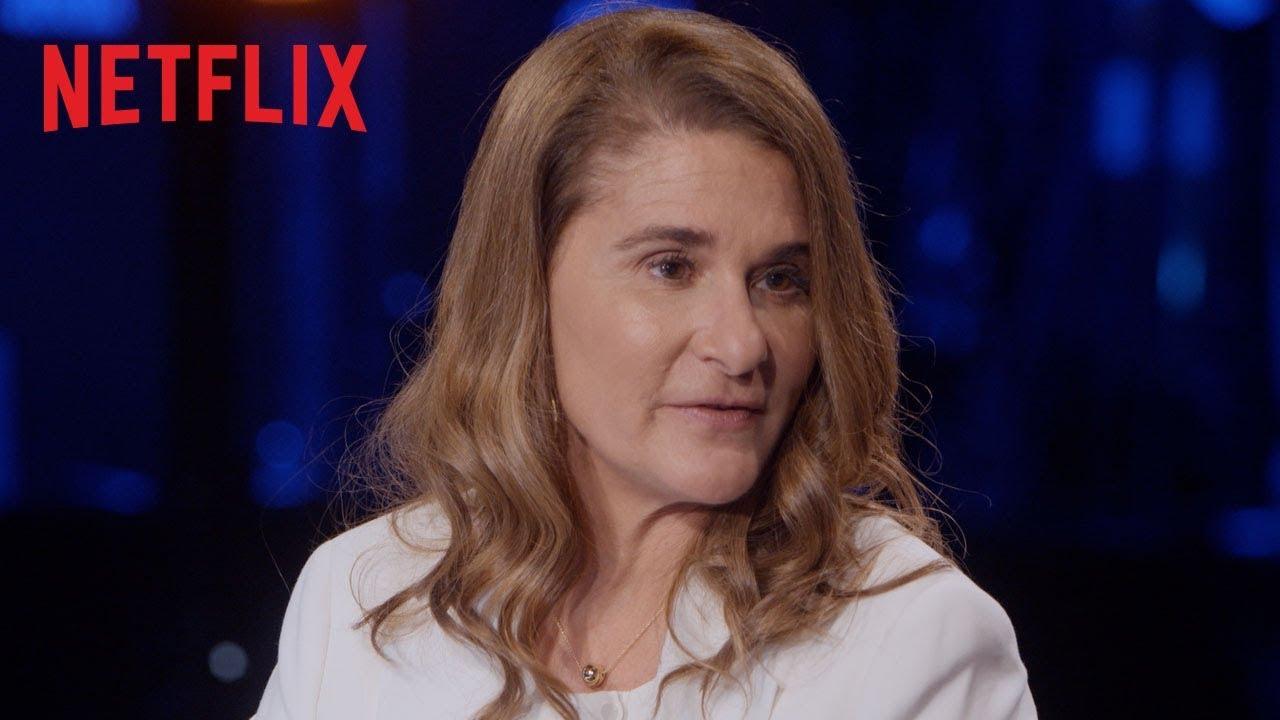 Melinda Gates and David Letterman talk tech, philanthropy