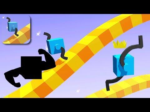 DRAW CLIMBER - Walkthrough Gameplay - INTRO (iOS Android)