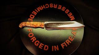 Kochmesser Sheepfoot Marlene www forged in fire at