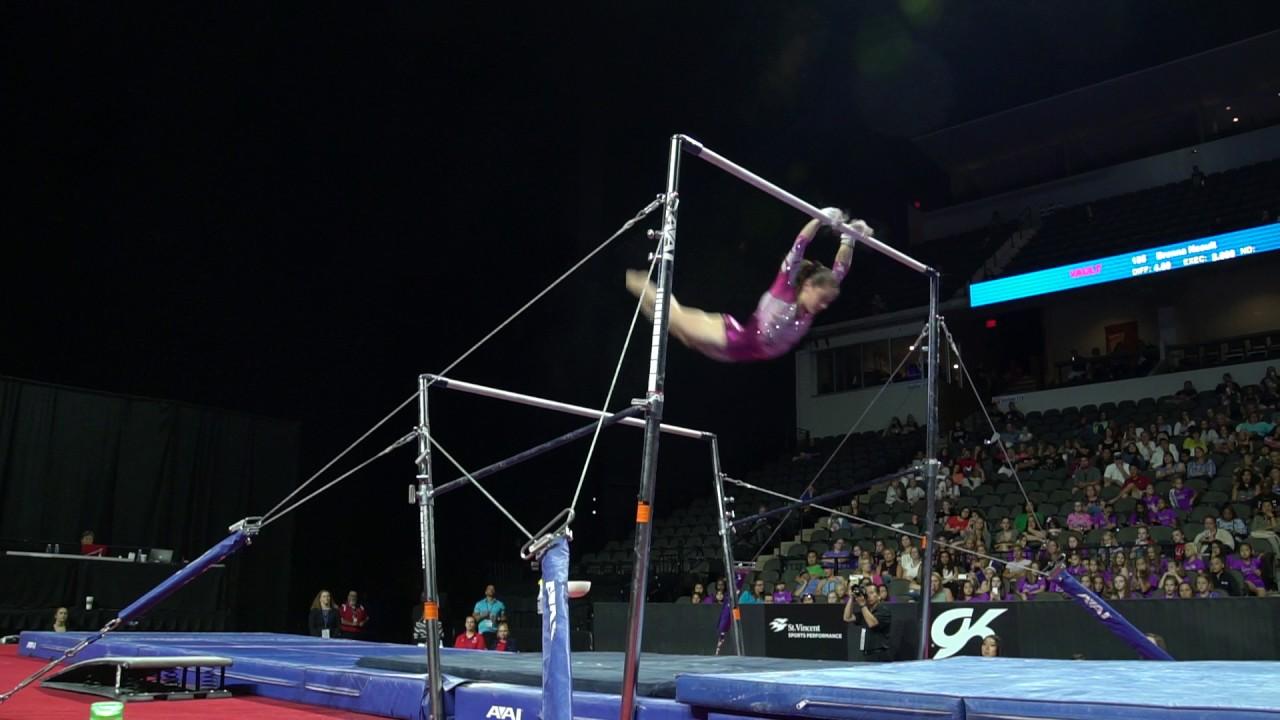 4652ad8648d3 Jordan Bowers – Uneven Bars – 2017 U.S. Classic – Junior Competition. USA  Gymnastics