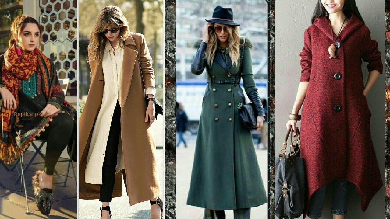 [VIDEO] - Smart Woolen Kurti/Coat/Dresses Smart winter collection   Winter lookbook 2017-18 3