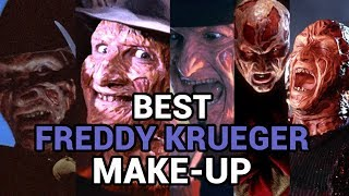 the best freddy krueger make up a nightmare on elm street