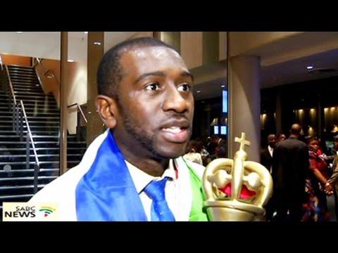 Nigerian Uche Agu won The Best of Africa Gospel Artist award