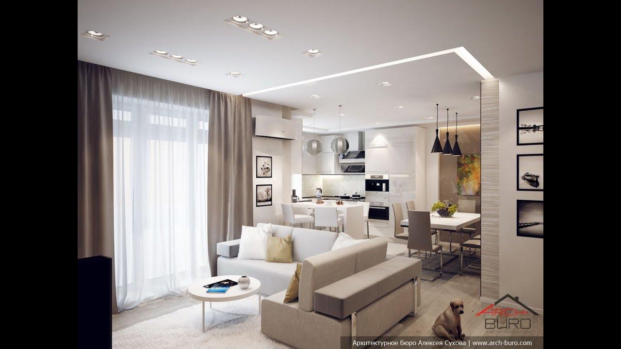 Кухня-спальня дизайн фото
