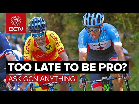 Is It Ever Too Late To Become A Pro Cyclist? | Ask GCN Anything