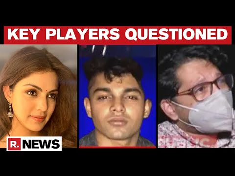 Rhea Showik And Pithani Questioned By Cbi In Sushant Singh Rajput Death Case Youtube