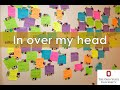 Idiom: In Over My Head