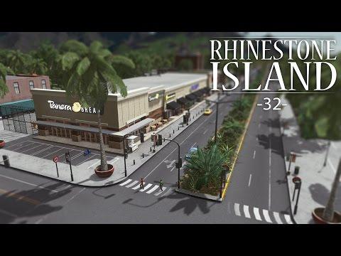 "Cities Skylines - Rhinestone Island [PART 32] ""Shopping Center"""