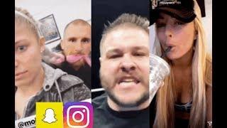 WWE Snapchat/Instagram ft. Alexa Bliss, Kevin Owens, Braun Strowman, Mandy Rose, Mojo Rawley n MORE