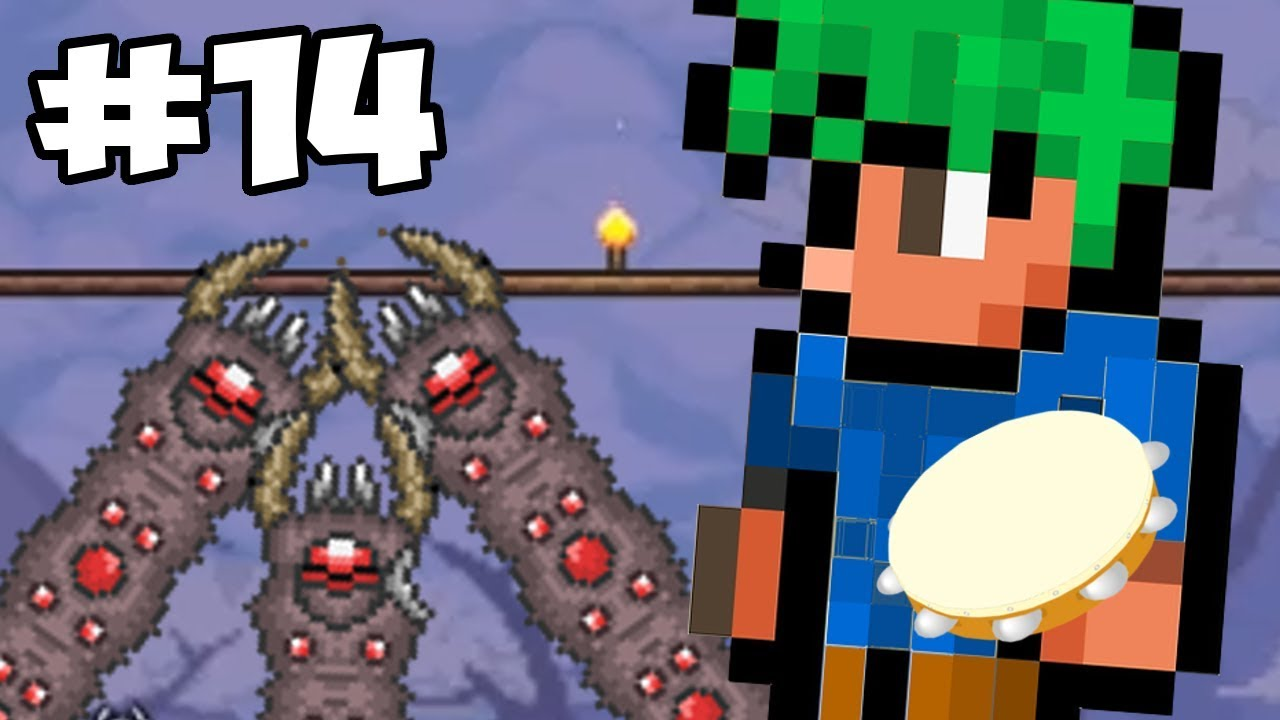 Terraria Bard Class Let's Play - Eater of Confusion | Terraria Gameplay /  Thorium Mod