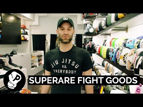 The Superare Story | Puncher Interviews Superare Fight Goods Owner Dylan Lipari