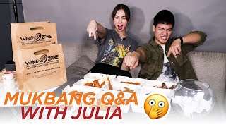 Mukbang Q&A with Julia Barretto // Marco Gumabao