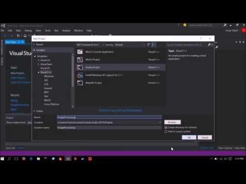 LibPng tutorial (Download/Install/Setup + example code) visual studio 15