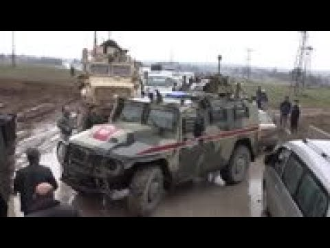 US Troops Stop Russian Convoy In Syria