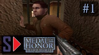 "Medal of Honor: Allied Assault (сложность ""Тяжело"") - #1 Спасательная операция"