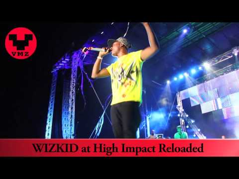 Wizkid performs with a live band