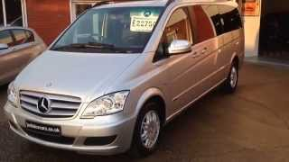 2011 (11) Mercedes-Benz Viano 3.0 CDI Ambiente 5dr Tip Auto 8 Seater (Sorry Now Sold)(EXTRA LONG WHEEL BASE MPV~ ~PRICE INCLUDEDS VAT~ HERE WE OFFER THIS RARE NEW SHAPE 2011/11 MERCEDES BENZ VIANO AMBIENTE ..., 2014-11-15T09:24:23.000Z)