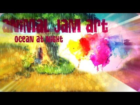 Animal Jam | Ocean Masterpiece Speed art | Pocketpiez AJ