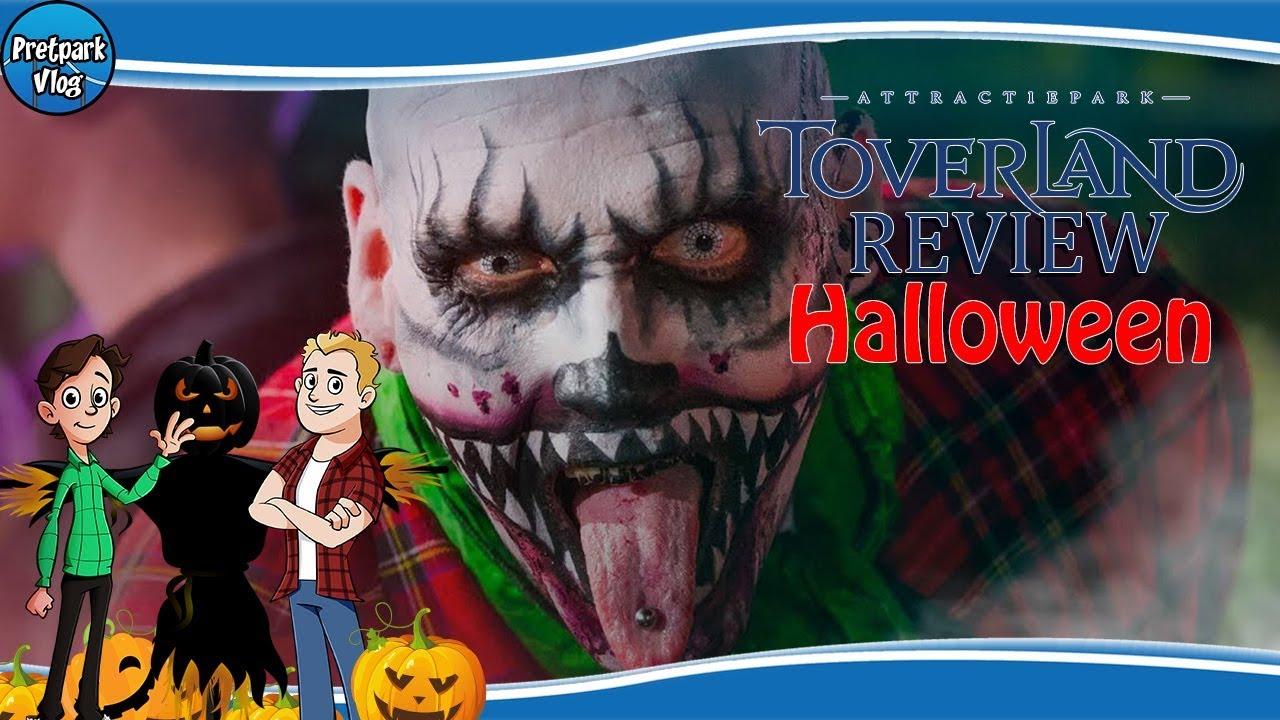 Halloween Toverland 2019.Pretpark Reviews 2018