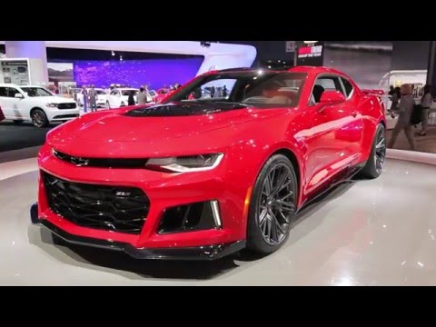 2017 Chevrolet Camaro Zl1 Video Preview Youtube