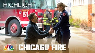 Chaplain Sheffield Proposes to Brett! - Chicago Fire (Episode Highlight)