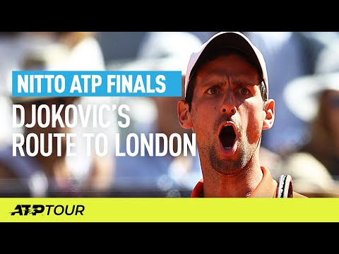 Djokovic's Route To London | Nitto ATP Finals | ATP