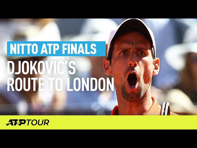 Djokovic's Route To London | Nitto ATP Finals | ATP