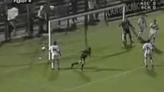 OGC Nice - Ajaccio (2001-2002)