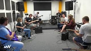 Гитарный джем в школе Musical Wave 12.08.17