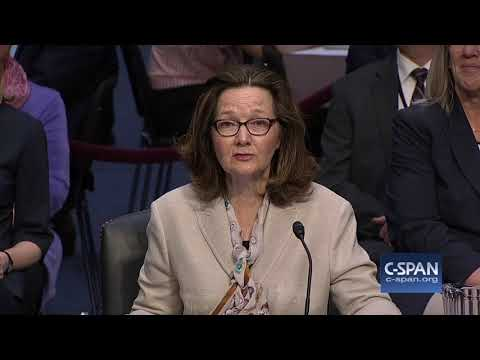 CIA Director Nominee Gina Haspel FULL OPENING STATEMENT (C-SPAN)