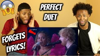 Baixar Perfect Duet Live - Beyoncé FORGETS THE LYRICS! (REACTION)