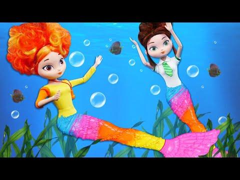 Сказочный Патруль стали русалками на дне моря. Игры для девочек.