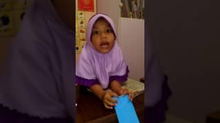 Nadhifa-Hafalan Hadits Pendek Untuk usia TK PAUD di Rumah Belajar Anak Hebat AHE